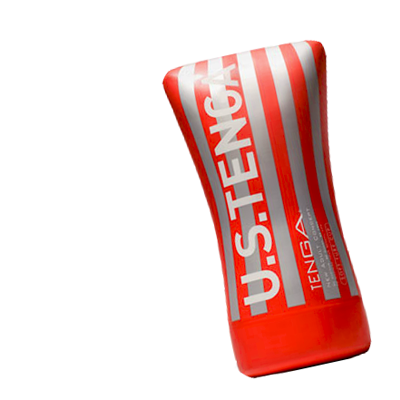 Tenga Soft Tube důvěryhodná imitace vagíny červeno šedá